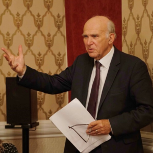 Sir Vince Cable MP former Leader of the Liberal Democrats and an innovative Business Secretary in the Cameron/Clegg government