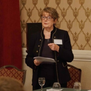 Phyllis Macfarlane Chair of the UK's Market Research Society